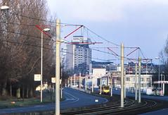 Once upon a time - The Netherlands - Utrecht West (railasia) Tags: holland provinceutrecht utrecht wegderverenigdenaties sun articulatedmotorcar sig deliverydesign infra eighties