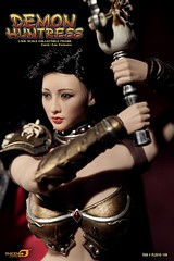 PHICEN PL2016-100 Demond Huntress EXPO Ver - 08 (Lord Dragon ) Tags: 16scale 12inscale onesixthscale actionfigure doll hot toys phicen seamless femalebody