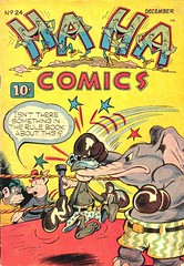 Ha Ha 24 (Michael Vance1) Tags: comics comicbooks cartoonist art artist anthology funnyanimals fantasy funny humor goldenage