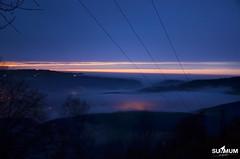 La lumire artificielle prend le relais. (Summum Graphic) Tags: winter light sunset vacation sky france mountains alps night clouds alpes landscape photography nikon lumire chartreuse savoie nuages paysage nuit montagnes isre
