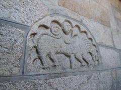 Tímpano en Turei (Beiro) (FreeCat) Tags: santa galicia romanico ourense timpano baia eulalia beiro olaia turei