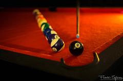 Embolando la 8 (FlavioSpezia) Tags: pool arcoiris 35mm nikon colores bolas bola 18 mesa paño d7100