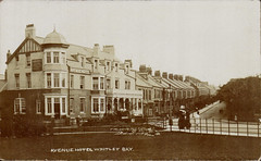 Whitley Bay, the Avenue public house in 1908 (bikerbilly67) Tags: