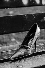 high heel (-BigM-) Tags: city germany lost deutschland photography shoe high pumps fotografie stadt heel baden schuh verloren bigm württemberg göppingen süsen