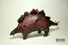 Stegosaurus (dargelirli) Tags: origami dinosaur fantasy stegosaurus atilla kawahata fumiaki dargelirli yurtkul