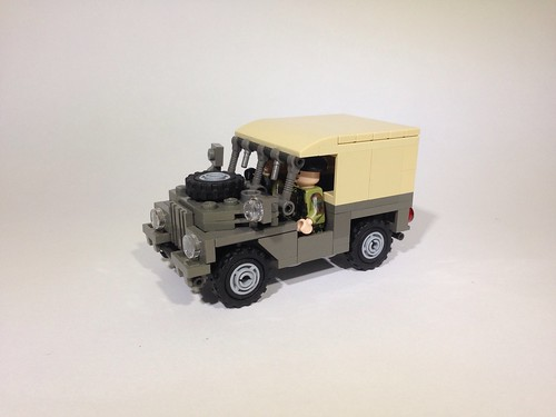 Air portable Land Rover
