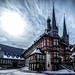 Ein Recover Vom Rathaus Wernigerode