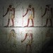 The tombs of El Kurru - wall paintings in tomb of Tanutamani