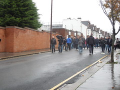 Selhurst Park, Holmesdale Road, London (Paul-M-Wright) Tags: road park november london liverpool football crystal soccer sunday palace v match 23 premier league lfc 2014 cpfc selhurst holmesdale
