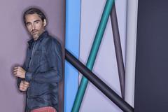 RVLD (Celeste Martearena) Tags: man men argentina colors paper photography photographer background clothes campaign ringflash celeste martearena