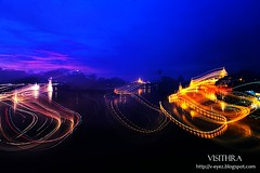 Light trail (visithra) Tags: travel people interesting yangon myanmar lovelyplace