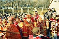 112. Освящение Сергиевского монастыря 2005 г