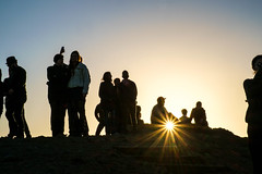 sunstar (AndrewG-of the north) Tags: sanfrancisco california sunset twinpeaks sunstar xe1