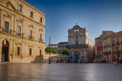 Plaza in front of the Cathedral (titan3025) Tags: italien italy italia sicily hdr 2014 sizilien