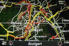 Stuttgart capital of traffic jams in Germany (Habub3) Tags: macro canon germany deutschland traffic stuttgart powershot jam navi stau g12 2014 habub3