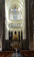 cathdrale d'Amiens (Fransois) Tags: france art choir cathedral gothic cathdrale amiens gothique choeur