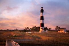 Just You, The World And The Sunrise (karenhunnicutt) Tags: northcarolina nagshead atlanticocean bodielighthouse karenmeyere karenhunnicutt karenmeyer karenhunnicuttphotographycom roadtrip2014 minneapolisfineartphotographer