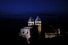 Puerta de la Bisagra Night (Alfonso Gonzalez F.) Tags: night canon 50mm noche spain puerta bisagra toledo espana