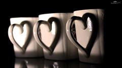 shadow cup heart fluid h