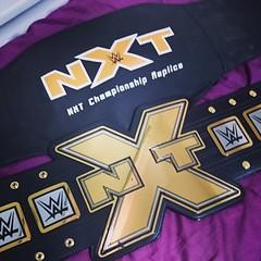 (imranbecks) Tags: championship belt big x replica title wwe nxt