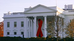 Commemorative Red Ribbon White House 2014 World AIDS Day 50183