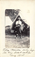 Scout Camp 1915 (rfulton) Tags: camping blackandwhite cars boys vintage children boyscouts bsa vactions vintagekids rppc