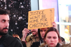 No Justice (agent j loves nyc) Tags: nyc newyorkcity politics protest timessquare protesting nojusticenopeace mikebrown shutitdown ericgarner blacklivesmatter