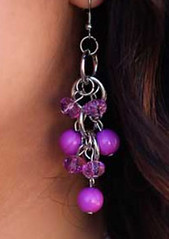 Glimpse of Malibu Purple Earrings K2 P5420-2