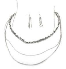 5th Avenue Silver Necklace P2220A-2