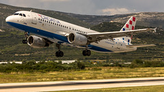 "Croatia airlines A319 taking off from Split airport • <a style=""font-size:0.8em;"" href=""http://www.flickr.com/photos/125767964@N08/16078266621/"" target=""_blank"">View on Flickr</a>"