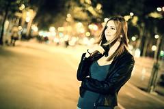 Barbara Gomez (Nelson.Montalvan) Tags: barcelona life street city light portrait woman inspiration love girl beautiful face fashion night fun 50mm noche spain nikon day good magic great moda style images beautifulwoman catalunya dslr sessions beautifulgirl spaingirl nikond5200