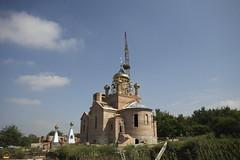 188. Освящение крестов в Адамовке 2009 г