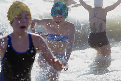 New Year's Day in Coney Island! (Barry Yanowitz) Tags: ocean nyc newyorkcity ny newyork beach brooklyn coneyisland sand event nycity 2015 718 coneyislandpolarbearclubnewyearsdayswim