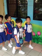 Outing today (Stinkee Beek) Tags: singapore ethan jaidee pcfkindergarten