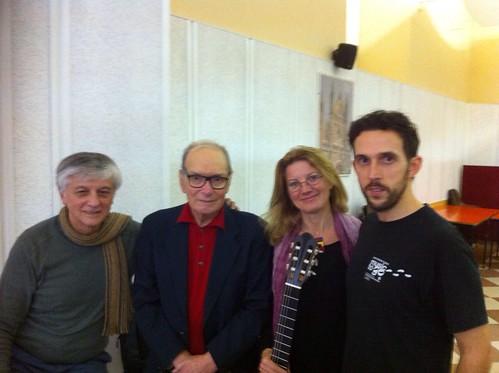 con Tamayo, Morricone e CASOLI