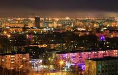 Ulyanovsk, Russia (DmitryYushkevich) Tags: russia citylights nightscene ulyanovsk nightviewofthecity