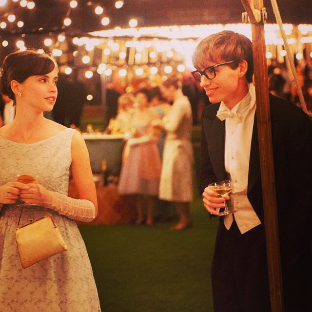 Love it!👓💕 The @BAFTA Benedict Cumberbatch and Eddie Redmayne up for best actor #TheTheoryOfEverything