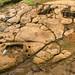 Fuente de Lavapatas com canais esculpidos na rocha