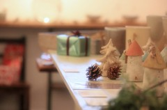 (bunagaya-santasan) Tags: christmas house ceramic tokyo miniature gallery little handmade craft event exbition