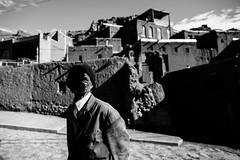 Abyaneh - IRAN - (C.Stramba-Badiali) Tags: portrait blackandwhite horizontal village iran unesco abyaneh oldcity traditionnel montkarkas
