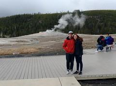 IMG_3886 (phoebe.yo) Tags: park old hot spring couple roadtrip steam national yellowstone wyoming geyser faithful tectonic