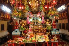 Colourful Hang Bac temple (Bex.Walton) Tags: travel temple vietnam hanoi oldquarter