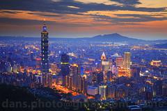 Taipei sunset view 2016  (*dans) Tags: sunset skyline skyscraper twilight cityscape dusk taiwan 101 taipei taipei101   whotel twtc    101    taipeiworldtradecenter  taipeidome       taipeiskyline      twilighttaipei twilighttaipei101      nanshanplaza taipeidomecomplex