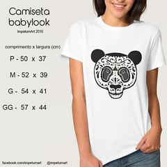 Babylook (IMPETUM T) Tags: art moda infantil indie camiseta altura roupas tamanho ilustraes blusas babylook vestimentas comprimento largura impetum impetumart