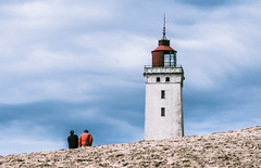 The couple (Andrea Securo) Tags: lighthouse travelling landscape denmark landscapes sand dunes dk lands fyr rubjerg bovbjerg knude