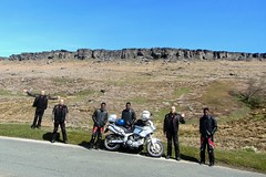 (Mike-Lee) Tags: mike sunshine bike countryside peakdistrict clones clone stanage stanageedge debyshire sijo cloningabout cagivanavigator1000 may2016