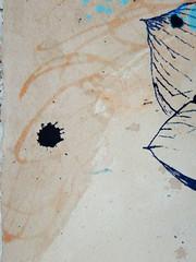 DSC09506 (scott_waterman) Tags: detail ink watercolor painting paper lotus gouache lotusflower scottwaterman