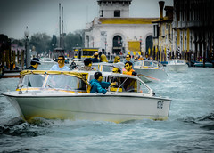 Grand Canal Venice (Zeger Vanhee) Tags: venice texture water gondolas vaporetto medievalarchitecture veniceviews