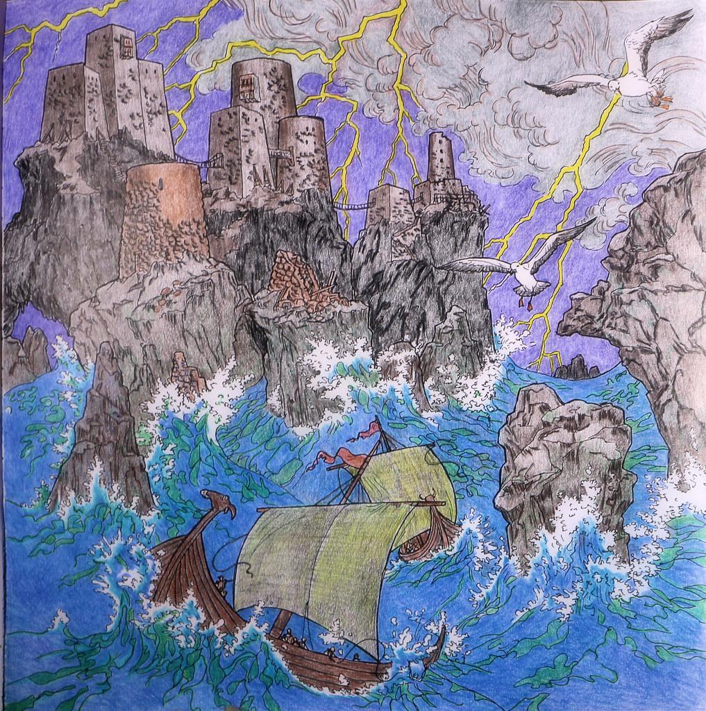 2016 06 01 1 Game Of Thrones Coloring Book JLeeFleenor