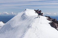 Above Ski Bowl (kerns.nathaniel) Tags: mountain glacier climbing cascades mountaineering shasta hood